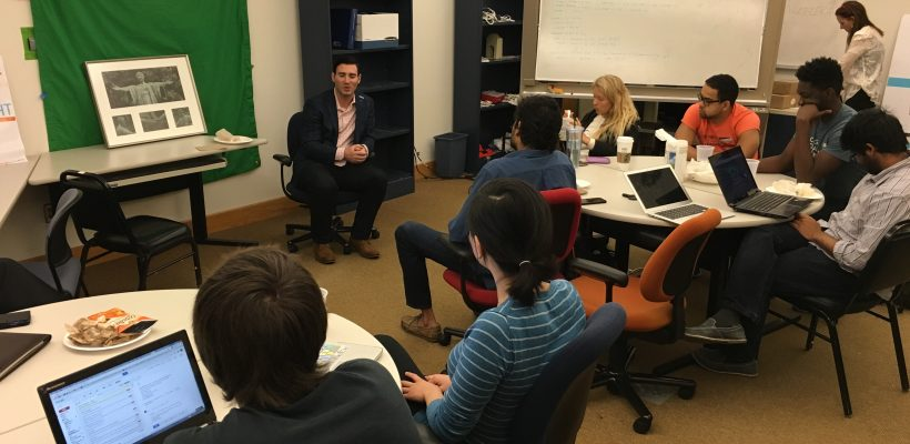 Lunch+Office Hours with Kevin Price, CFO of Trunk Club