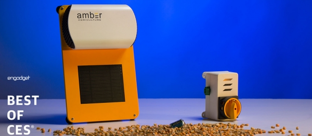 Engadget Names Amber Agriculture Top Startup at CES