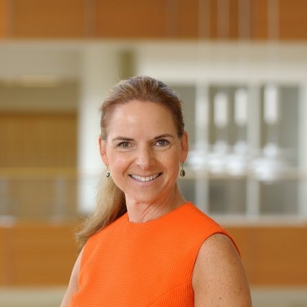 """<b><font size=""""+1"""">Julie Pfeiffer</font></b><br>Director of Corporate Relations & Development at UIUC"""